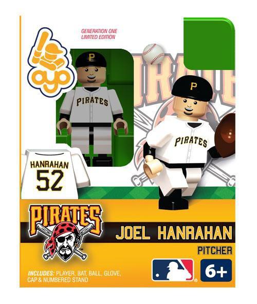Pittsburgh Pirates MLB Generation One Joel Hanrahan Minifigure
