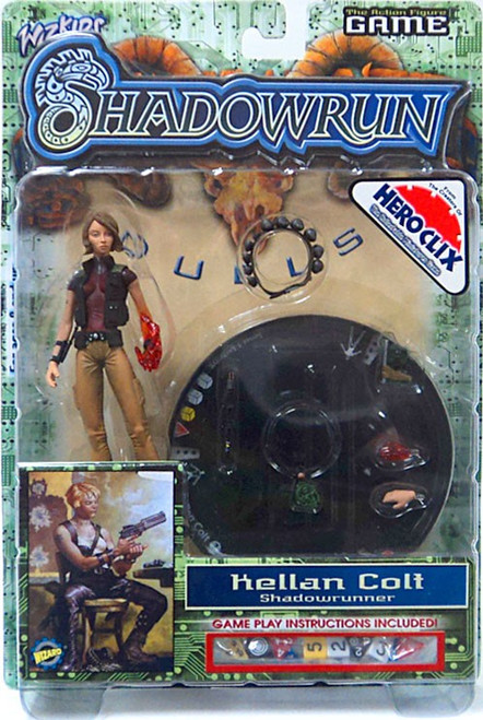 Shadowrun Duels Kellan Colt Exclusive Action Figure
