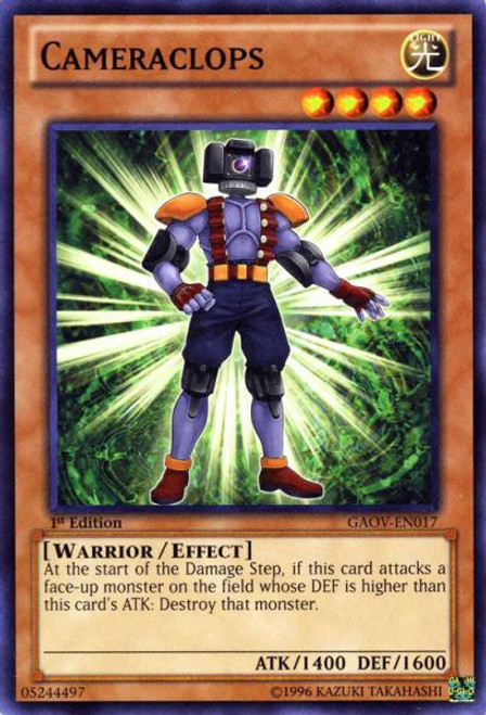 YuGiOh YuGiOh 5D's Galactic Overlord Common Cameraclops GAOV-EN017