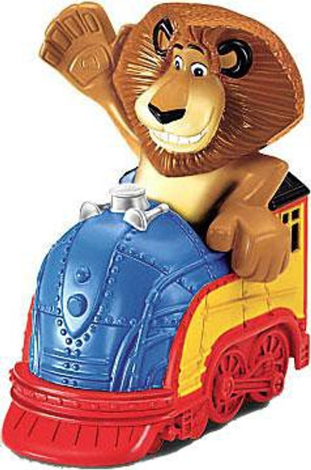 World of Madagascar Mini Alex In Train Exclusive