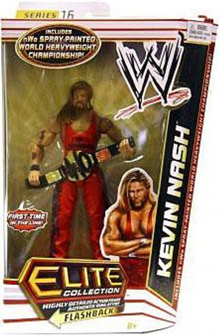 WWE Wrestling Elite Collection Series 16 Kevin Nash Action Figure [NWO Spray Painted World Heavyweight Championship]