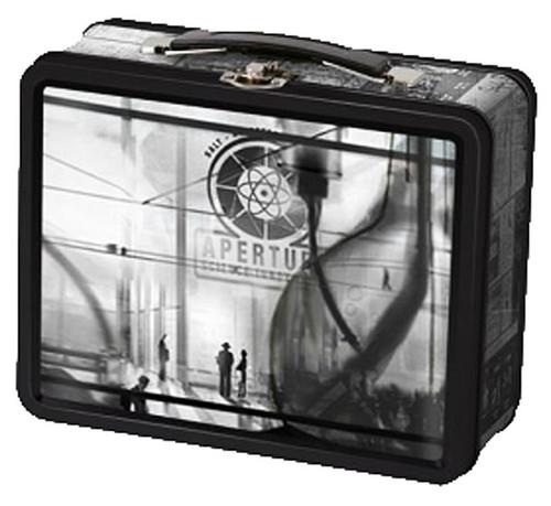 Portal 2 40's Aperture Laboratories Lunch Box