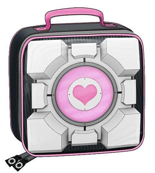 Portal 2 Companion Cube Lunch Box [Insulated]