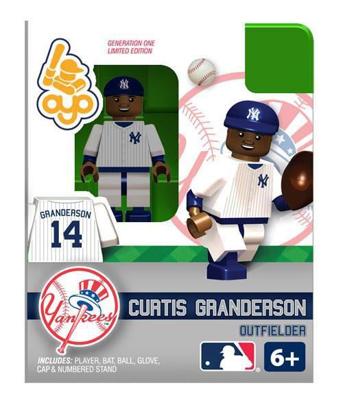 New York Yankees MLB Generation 1 Curtis Granderson Minifigure