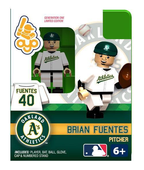 Oakland A's MLB Generation 1 Brian Fuentes Minifigure