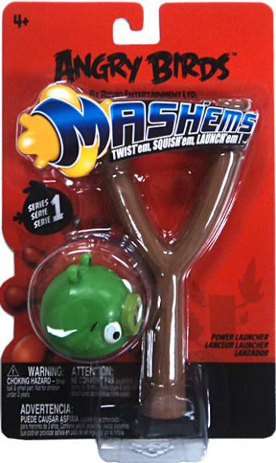 Angry Birds Mash'Ems Series 1 Neutral Pig Power Launcher