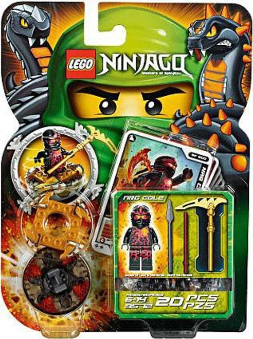 LEGO Ninjago Spinjitzu Spinners NRG Cole Set #9572