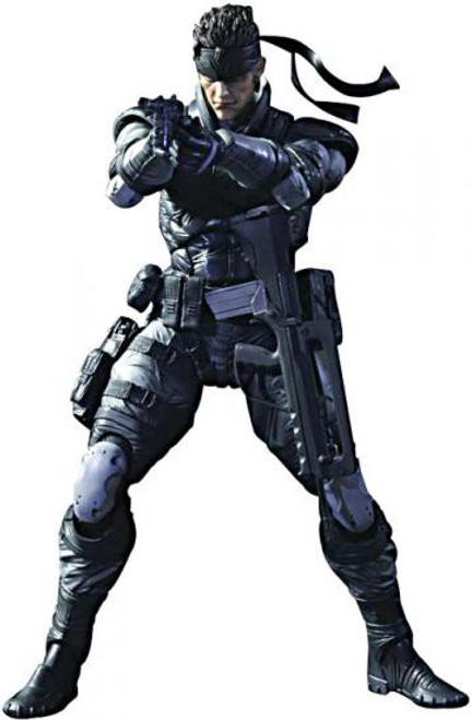 Metal Gear Solid Play Arts Kai 25th Anniversary Solid Snake Action Figure