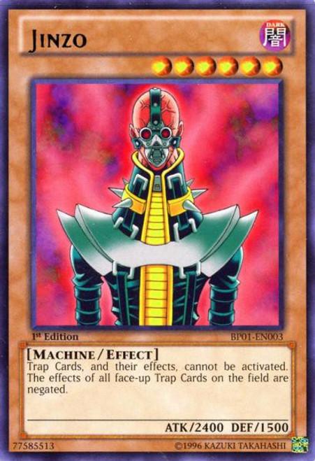 YuGiOh Battle Pack: Epic Dawn Rare Jinzo BP01-EN003