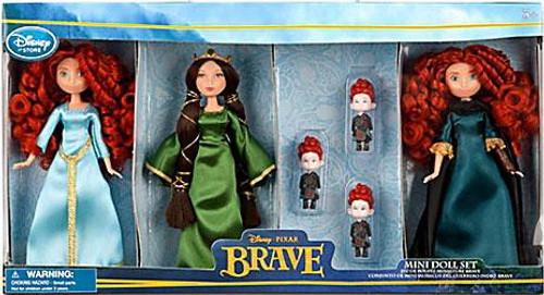 Disney / Pixar Brave Mini Doll Set Exclusive