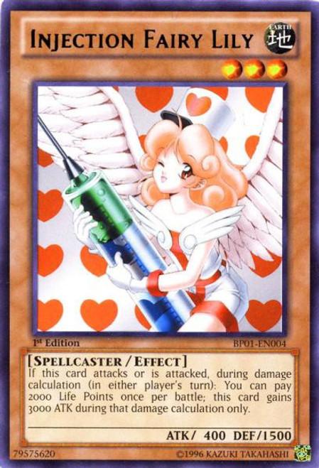 YuGiOh Battle Pack: Epic Dawn Rare Injection Fairy Lily BP01-EN004