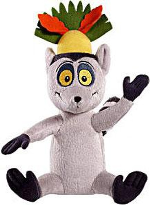 World of Madagascar Zooster Pal King Julien 8-Inch Plush