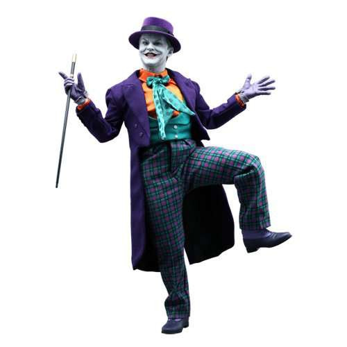 Batman 1989 Movie Movie Masterpiece Deluxe The Joker Collectible Figure DX-08 [Jack Nicholson]