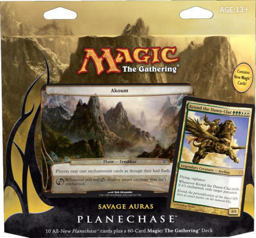 MtG Trading Card Game 2012 Core Set Savage Auras Deck