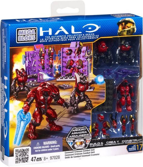 Mega Bloks Halo Crimson Covenant Combat Unit Set #97028