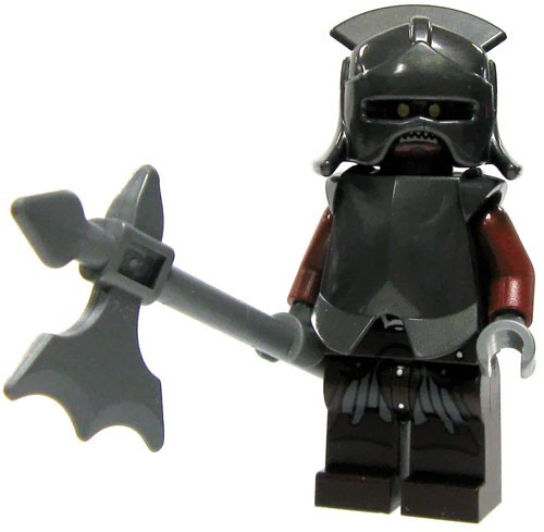 LEGO The Lord of the Rings Uruk-hai Heavy Infantry Minifigure [Loose]