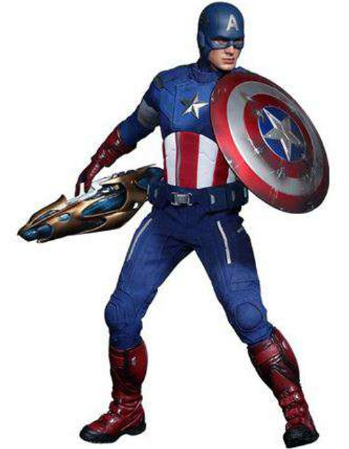 Marvel Avengers Movie Masterpiece Captain America Collectible Figure [Avengers]