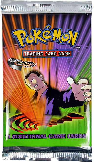 Pokemon Trading Card Game Gym Challenge Booster Pack [11 Cards]