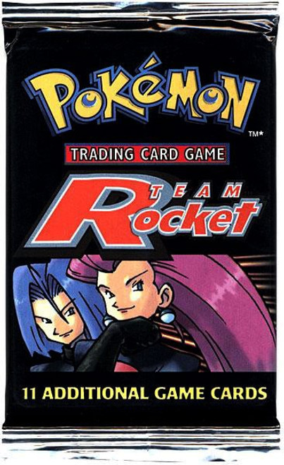 Pokemon Trading Card Game Team Rocket Booster Pack [11 Cards]