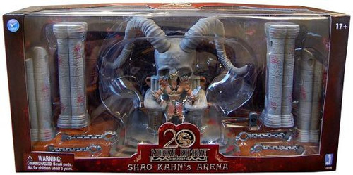 Mortal Kombat 20th Anniversary Shao Kahn's Arena Exclusive Action Figure Playset