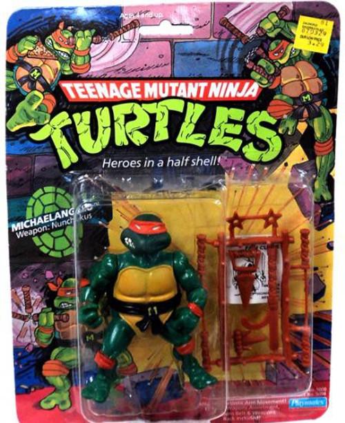 Teenage Mutant Ninja Turtles TMNT 1987 Michelangelo Action Figure