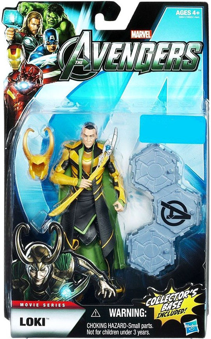 Marvel Legends Avengers Loki Exclusive Action Figure