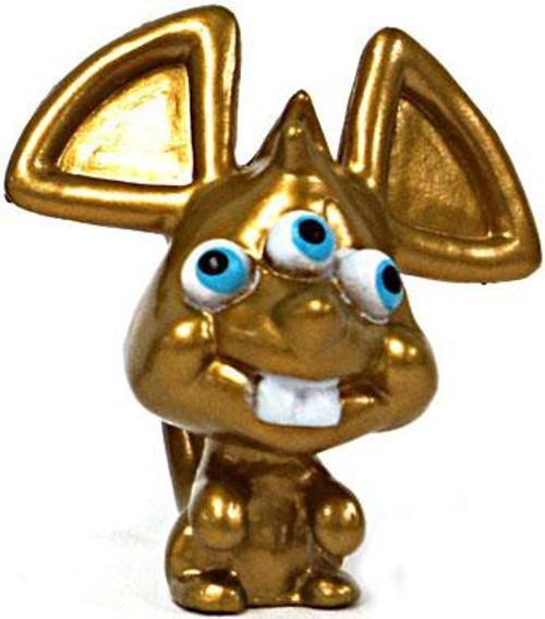 Moshi Monsters Moshlings Series 3 Ratty 1.5-Inch Mini Figure M15 [Gold]