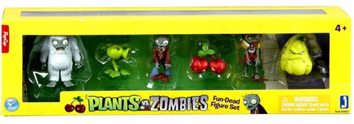 Plants vs. Zombies Fun-Dead Mini Figure 6-Pack