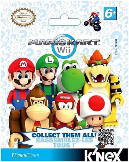 K'NEX Super Mario Mario Kart Wii Mystery Pack #38441 [1 RANDOM Figure]
