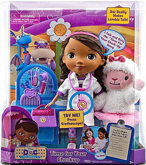 Disney Doc McStuffins Time For a Checkup 12-Inch Doll