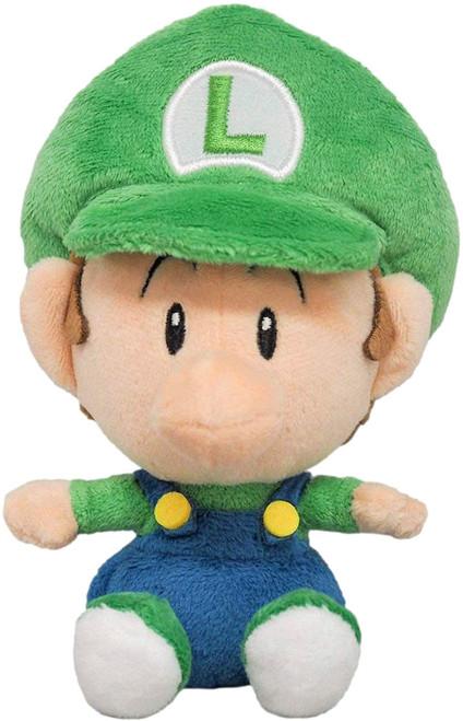 Super Mario Bros Luigi 6-Inch Plush [Baby]