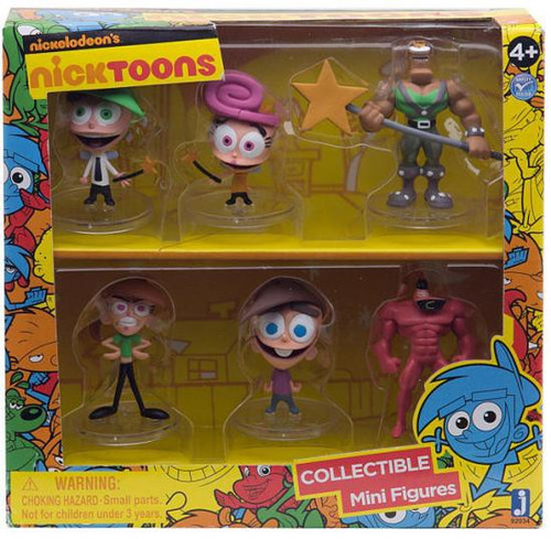 NickToons Fairly Odd Parents Collectible 2-Inch Mini Figures