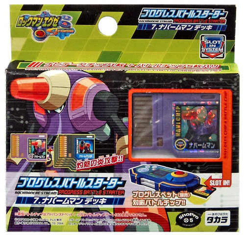 Capcom Mega Man Rockman Star Force Stream Progres Napalm Man Kit Battle Starter #07