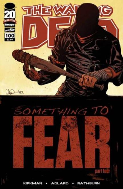 Image Comics The Walking Dead #100 Something to Fear Comic Book [Charlie Adlard]