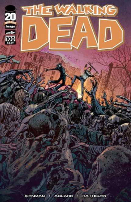 Image Comics The Walking Dead #100 Comic Book [Bryan Hitch Cover]