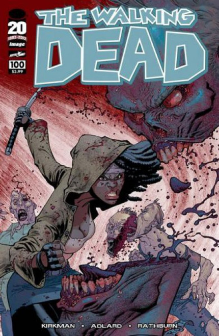 Image Comics The Walking Dead #100 Comic Book [Ryan Ottley Cover]