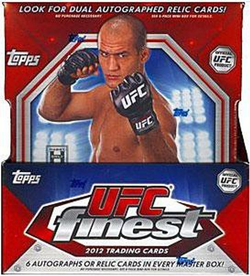 UFC Ultimate Fighting Championship 2012 Finest Trading Card Box