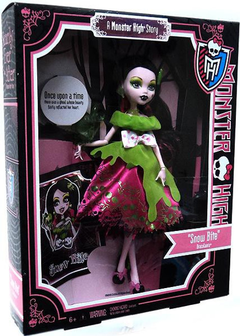 Monster High Scarily Ever After Draculaura Exclusive 10.5-Inch Doll [Snow Bite]