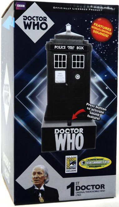Doctor Who Tardis Exclusive Bobble Head [1st Doctor]