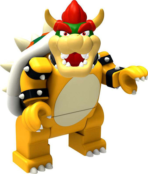 K'NEX Super Mario Bowser 2-Inch Minifigure [Loose]