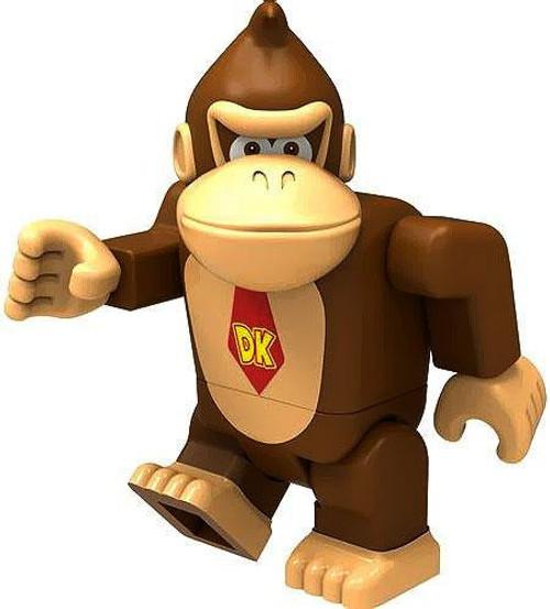 K'NEX Super Mario Donkey Kong 2-Inch Minifigure [Loose]
