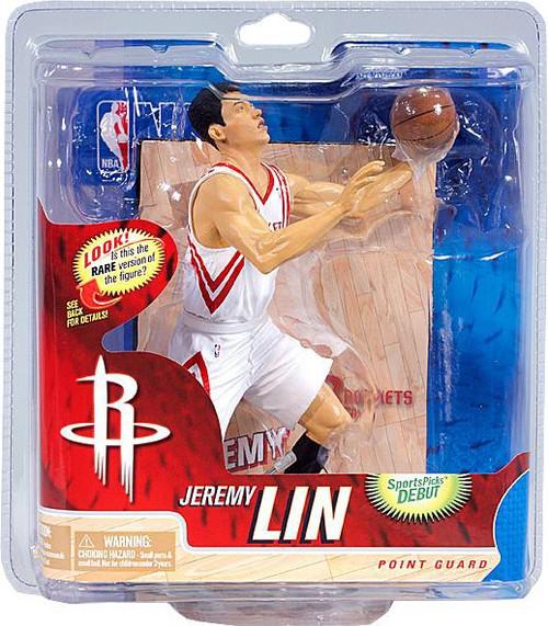 McFarlane Toys NBA Houston Rockets Sports Picks Series 21 Jeremy Lin Action Figure [White Jersey]