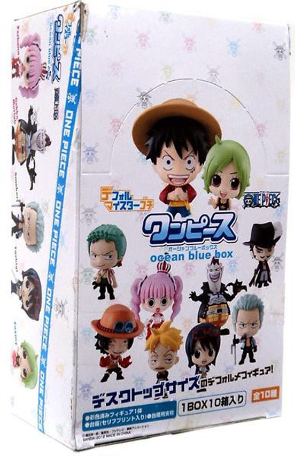 One Piece Ocean Blue Deformeister Petit Mini PVC Figure Set