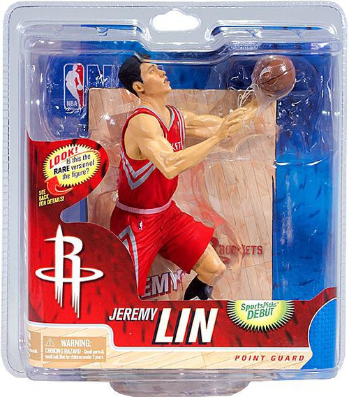 McFarlane Toys NBA Houston Rockets Sports Picks Series 21 Jeremy Lin Action Figure [Red Jersey]
