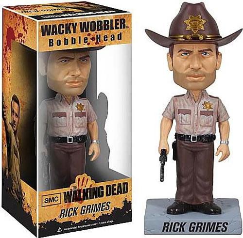 Funko The Walking Dead Wacky Wobbler Rick Grimes Bobble Head