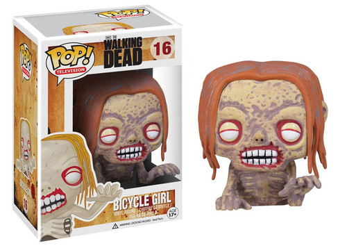 Funko The Walking Dead POP! TV Bicycle Girl Vinyl Figure #16