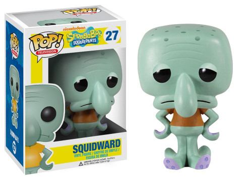 Funko Spongebob Squarepants POP! TV Squidward Vinyl Figure #27