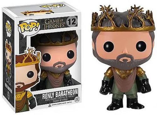 Funko Game of Thrones POP! TV Renly Baratheon Vinyl Figure #12