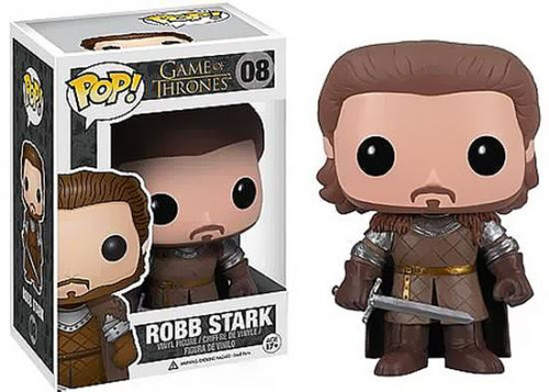 Funko Game of Thrones POP! TV Robb Stark Vinyl Figure #08