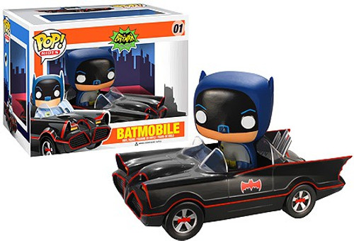 Funko Batman 1966 TV Series POP! TV Batmobile Vinyl Vehicle #1